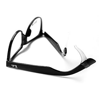DASUKE Superstretch weiß verhindern Brille gleiten rutschfest Sonnenbrille Spitzen Tempel Haken für die Ohr Ärmel Fest
