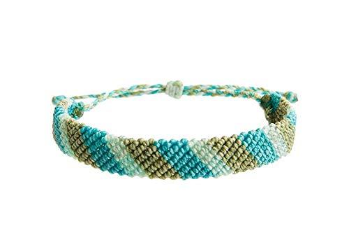 r,2019 Reine Handmade Bracelet Artwork Armband Mix Viele Stile Metall Charme Schaltfläche Stile Ginger Snaps Schmuck Freundschaft Armband Mint Green ()