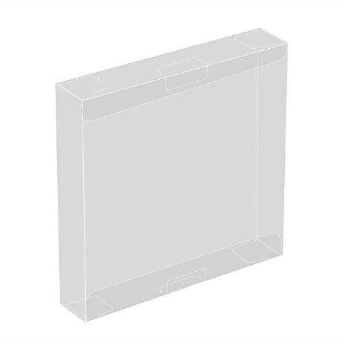 10 Unids Caja Cartucho Plástico Transparente Juego