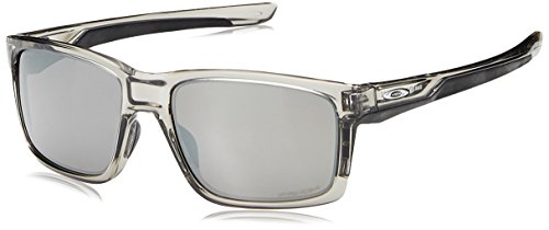 OAKLEY Herren Sonnenbrille Mainlink, Grau (Gris), 57