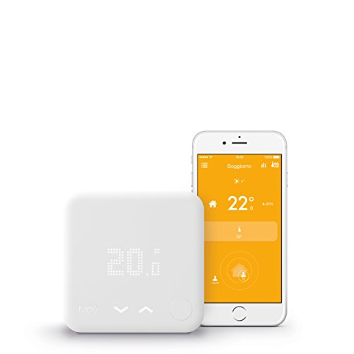 Tado SK-ST01IB01-TC-IT-03 Termostato Intelligente, Bianco