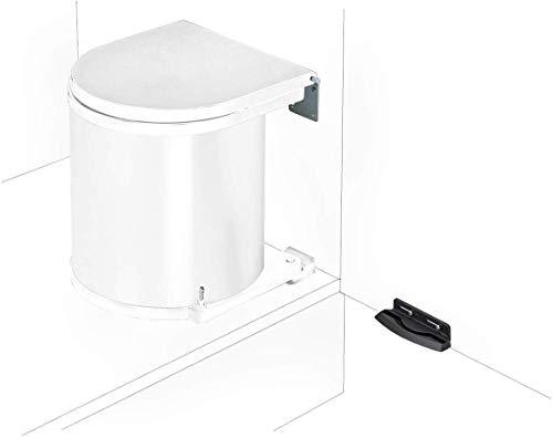 Küchen Mülleimer Badezimmer Abfallsammler 13 Liter Abfalleimer Ausschwenkautomatik *40655