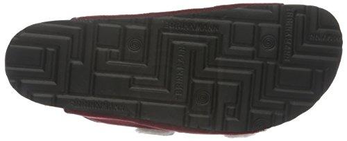 Dr. Brinkmann 700941, Mules Femme Rouge - Bordeaux