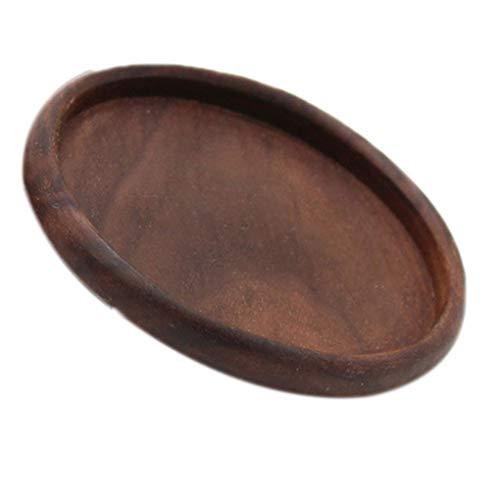 Gankmachine Quadrat Rund Schüssel Teekanne Tischset Tee Kaffeetasse Pad Heim Tabelle Holz Hitzebeständige Untersetzer (Holz-tabelle Tischsets)