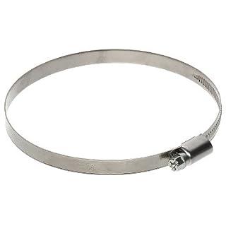 4x Metall Schlauch Clip 60mm–80mm Luftführung Klemme für flexible Schlauch Rohr Rohr Duct Band