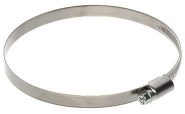 4x Metall Schlauch Clip 160mm-180mm/17,8cm Luftführung Klemme für flexible Schlauch Rohr Rohr Duct Band OP8 -
