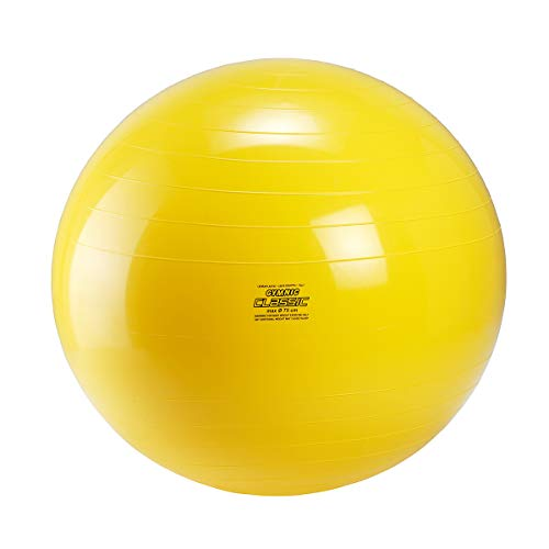 Gymnic Gymnastikball, 75 cm Ø gelb
