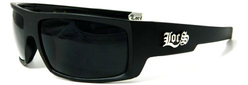 Unknown Locs Sonnenbrille Out Lenses Gangster Hardcore Shades 4133A 1 Schwarz