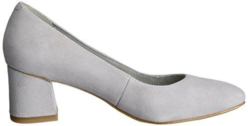 Tamaris 22401, Chaussures à talons - Avant du pieds couvert femme Gris (LIGHT GREY 204)