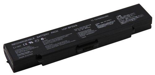 4400mAh Notebook Laptop Ersatz Akku Batterie für Sony Vaio VGN-AR VGN-CR VGN-FS VGN-NR VGN-SZ, ersetzt VGP-BPS9 VGP-BPS9/A VGP-BPS9/B VGP-BS16