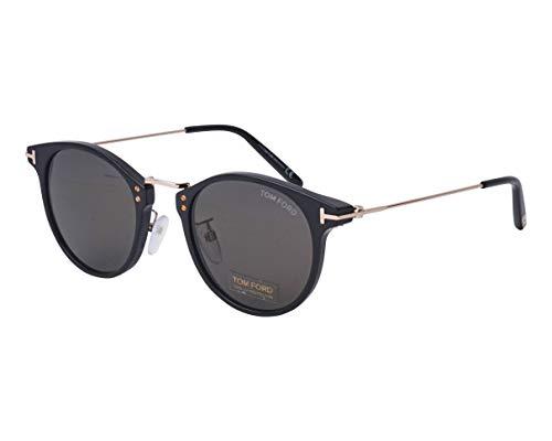 Tom Ford Sonnenbrillen Jamieson (TF-673 01A) schwarz glänzend - gold - grau