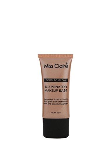 Miss Claire Born To Glow Illuminator Makeup Base - 05 Shiny