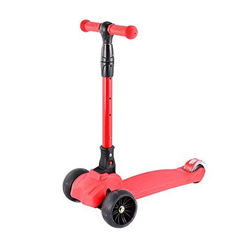 HXiaDyG Kinderroller Kinder 3-Rad-Roller Schnell Scooter Folding Kann Fahrradlift Geeignet Für Mädchen Und Jungen (Color : C1, Size : 58x30CM) -