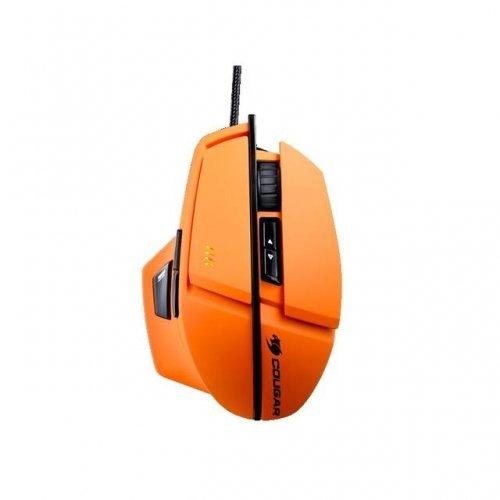 Usb Wired Laser Maus (Cougar Cougar 600m moc600o USB Wired Laser Performance Gaming-Maus w 8200DPI (Orange)/moc600o/)
