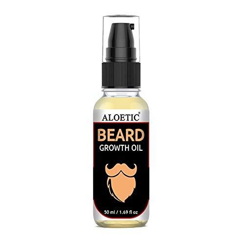 ALOETIC Beard Oil for Moustache and Beard Hair Growth for Men (50ML)