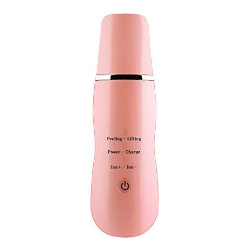 ACC Gesichts-Ultraschall-Haut-Wäscher, Peeling zu Mitessern, um Akne-Reinigung Facial Lifting Massage zu entfernen, tragbare Reinigung Schönheits-Instrument,Orange