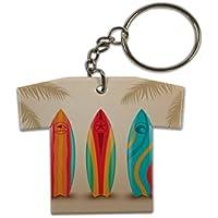 Llavero Agencia Viajes Vacaciones Tablas de surf Jersey impreso