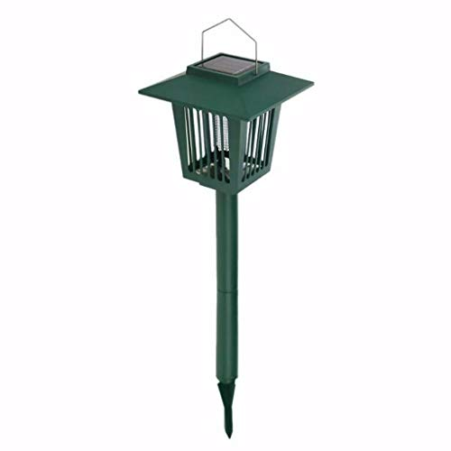 YWLINK Aufhängbar Umweltschutz Solarbetriebenes LED-Licht Garten Abweisend Pest Insekten-Moskito-MöRder-Lampe Rasen