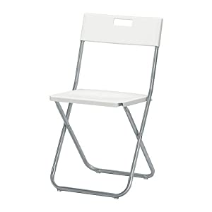 Ikea GUNDE – Folding Chair, White