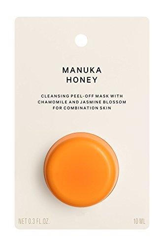 Manuka Honig Peel Off Gesichtsmaske - Reinigungsmaske für Mischhaut mit Jasminblüten, Kiwi und Wassermelone (1 x 10 ml) - Manuka-honig Süßen