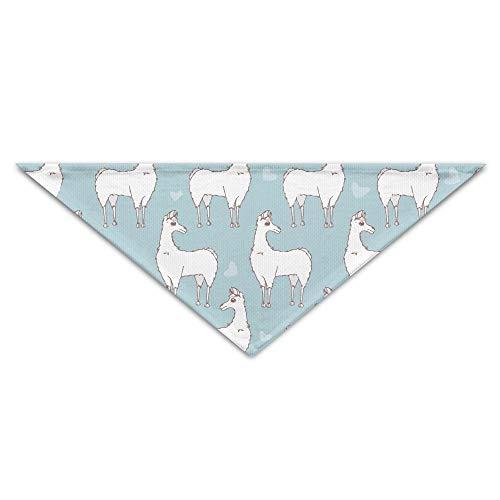 Gxdchfj Sheep Sticker Turban Triangle Scarf Bib Scarf Accessories Pet Cat and Baby Puppy Saliva Dog Towel -