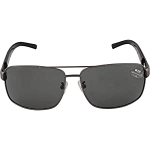 Axe Style XSG503 HIGH Quality polarised aviator sunglasses (Black) + Stylish Case