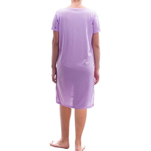 Romesa big t-shirt-collection i love you Violet - Lilas