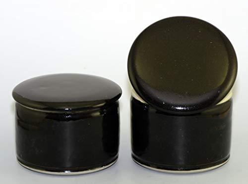 Original französische wassergekühlte keramik butterdose, keine harte butter zum frühstück mehr, ca 250 gr dark Z-G -