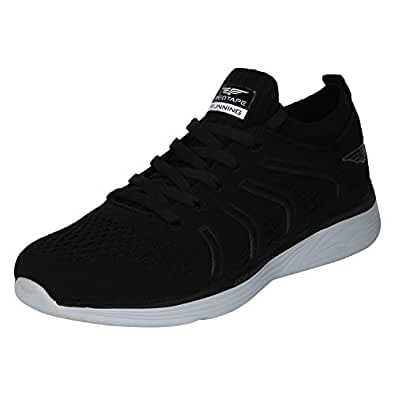 Red Tape Men's RSO0251A Black Running Shoes-10 UK/India (44 EU) (RSO0251A-10)