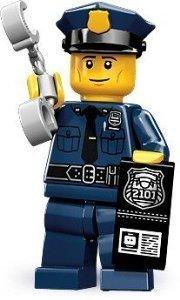 LEGO-71000-from-Series-9-Mini-Figure-PolicemanPolice-Man