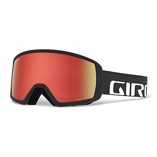 Giro Herren SCAN Skibrille, Black Wordmark, M