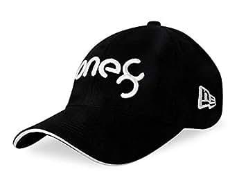 "SHVAS ""VK - Logo Theme Unisex Baseball Black Cap [VKBLACKWHITEBB]"