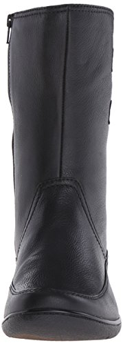 Clarks Kearns Flash Boot Black Lined Leather