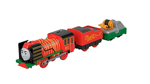 Thomas & Friends FJK57 Yong Bao Rescue,Thomas the Tank Engine Toy Engine, Big World, Big Adventure Movie Toy Train, 3 Year Old