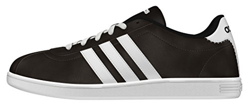 adidas Herren Vlcourt Sneaker, Schwarz, 40 EU Braun (Marosc / Ftwbla / Negbas)