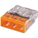 WAGO - Flacon de 50 mini bornes 3 fils S2273 WAGO