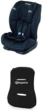 Foppapedretti Re-Klino Seggiolino Auto senza ISOFIX, Gruppo 1/2/3 (9-36 Kg), per Bambini da 9 Mesi fino a 12 A