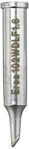 Preisvergleich Produktbild Ersa ERSADUR Lötspitze gerade PowerWell mit Hohlkehle 1,6 mm 0102WDLF16