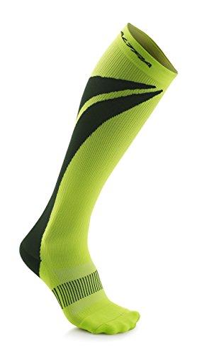Altra Wandleuchte Maximale 1.0Leichte Anatomische Kompression Socken, Unisex, Limette/Schwarz, Medium