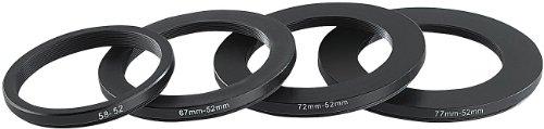 Somikon Fernglas-Adapter: Objektiv-Adapterring 67 mm auf 52 mm (Digitalkamera Objektivadapter)