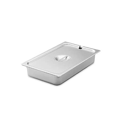 Vollrath 75260 Super Pan V, Steam Table Pan Cover, 1/6 Size, S/S, ReinForced