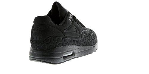 Nike Unisex-Erwachsene W Air Max 1 Ultra Plush Laufschuhe Schwarz / schwarz-weiß))