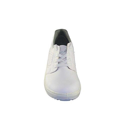 Jal Group T901 O1 Berufsschuhe Laborschuhe flach Weiß B-Ware Weiß