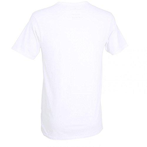 Tom Tailor - Herren Tshirt, V-Ausschnitt, 2er Pack (070877/6061) 2016/2017 weiß (1000)