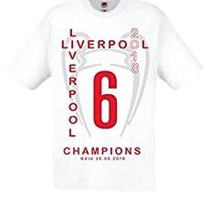 Camiseta Real Madrid Liverpool Uefa Champions League 2018