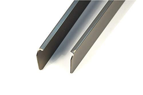 ABSCHLUSSLEISTE Winkelleisten Seiteleiste Arbeitsplatte küche endeleiste 38 mm