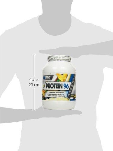 Frey Nutrition Protein 96 Vanille Dose, 1er Pack (1 x 750 g) - 7
