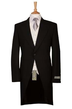Mens Black Morning Tailcoat