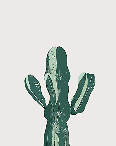SCLWFJ Digitale Malerei_DIY Digitale Malerei Jy342 Feuerpalme, 40x50cm