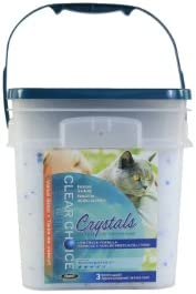 Clear Choice Silica Crystal Cat, White, 11.4 Litre - 5.4 Kg